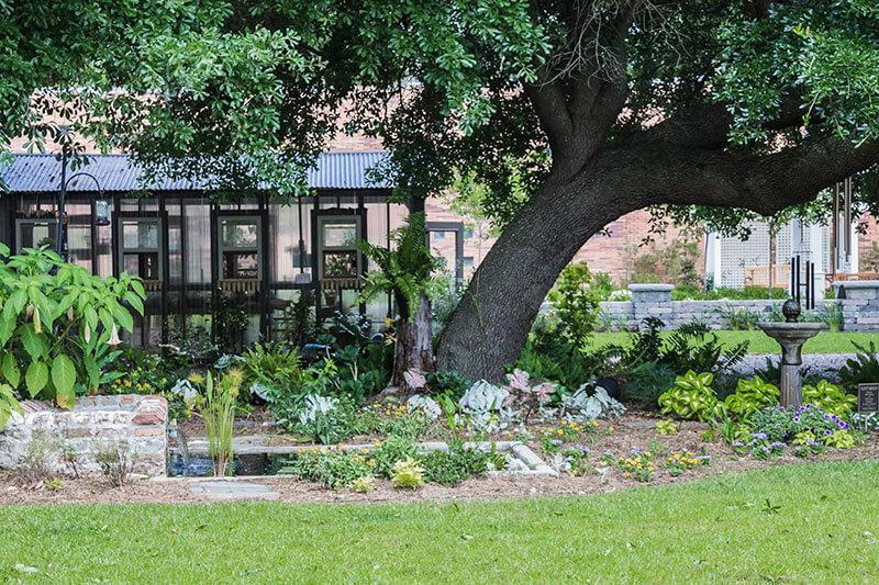 Cornerstone Gardens made it through Tropical Storm Cindy